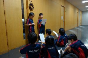 1・2年生 学校を探検